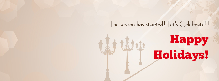 FREE Holiday Facebook Banner Image