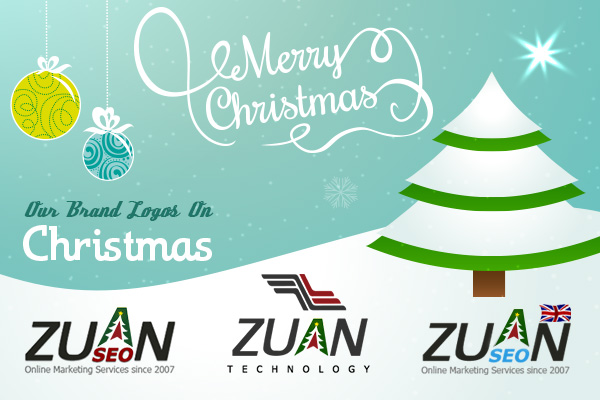 Zuan Technology New Logos for Christmas and New Year 2015
