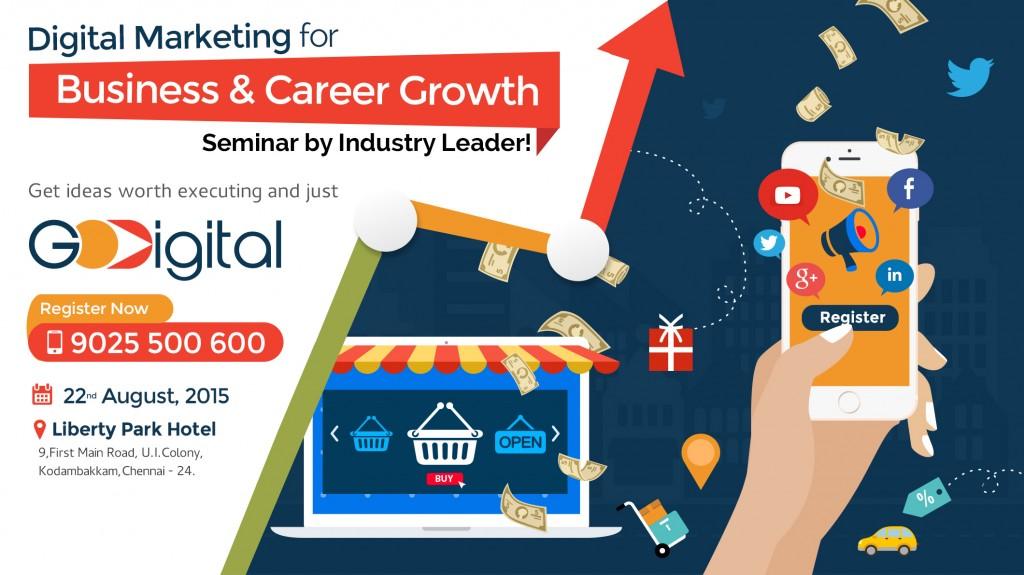 Digital Marketing Seminar 2015