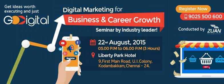 zuan technology godigital seminar 2015