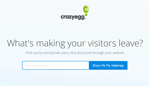 Crazyegg Heat Map Tool