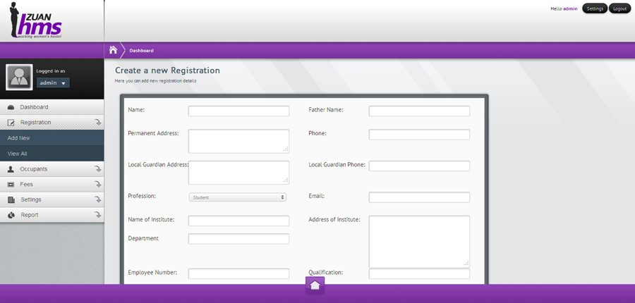 Free Hostel Room Booking Software