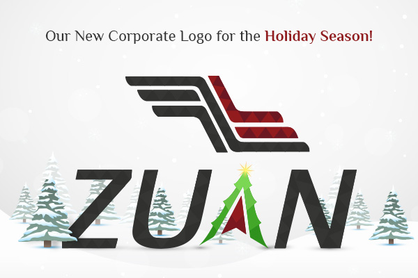 New Corporate Logo for New Year and Christmas Celebration