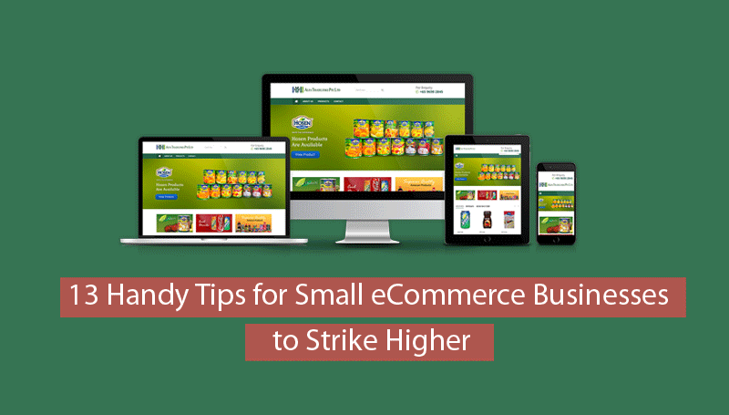 13 Handy Tips for Small eCommerce Businesses to Strike Higher