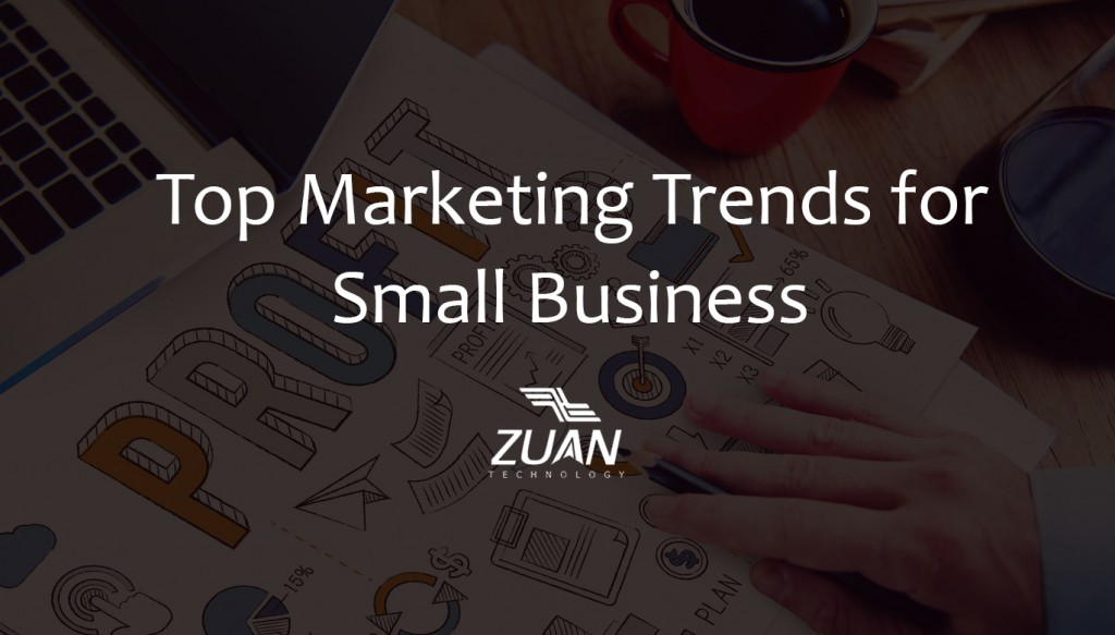 Top marketing trends for small business in 2016
