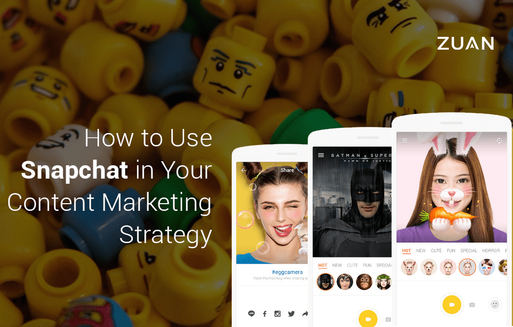 How to Use Snapchat in Your Content Marketing Strategy