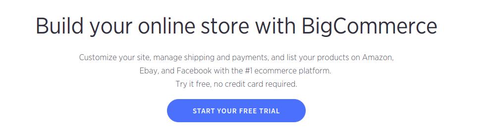 bigcommerce platform
