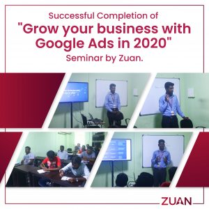 Successful completion of Google ads seminar!