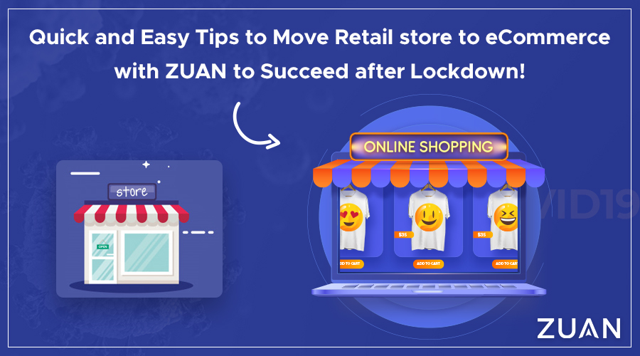 quick tips to move retail store to online store