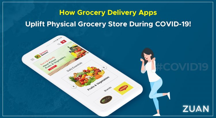 Grocery delivery apps