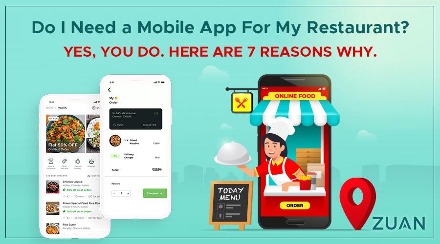 Why restaurant mobile app reasons